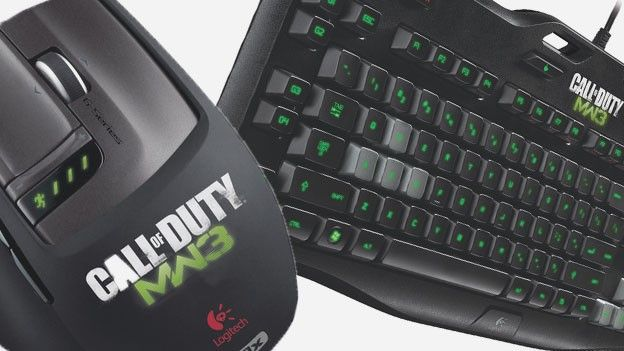 Logitech  G9x e G105, designed for MW3