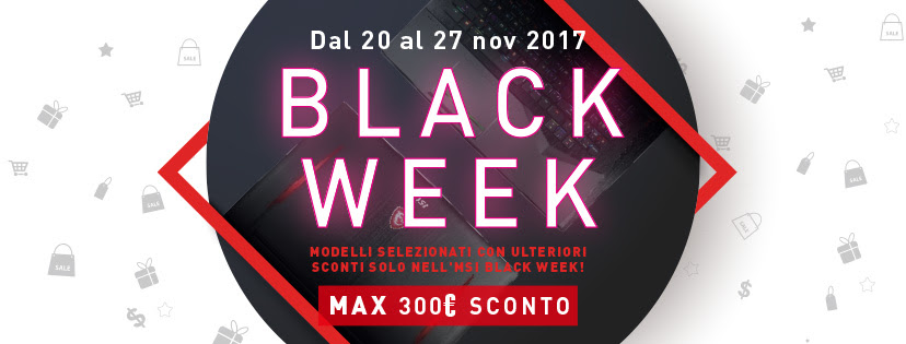 MSI Black Week