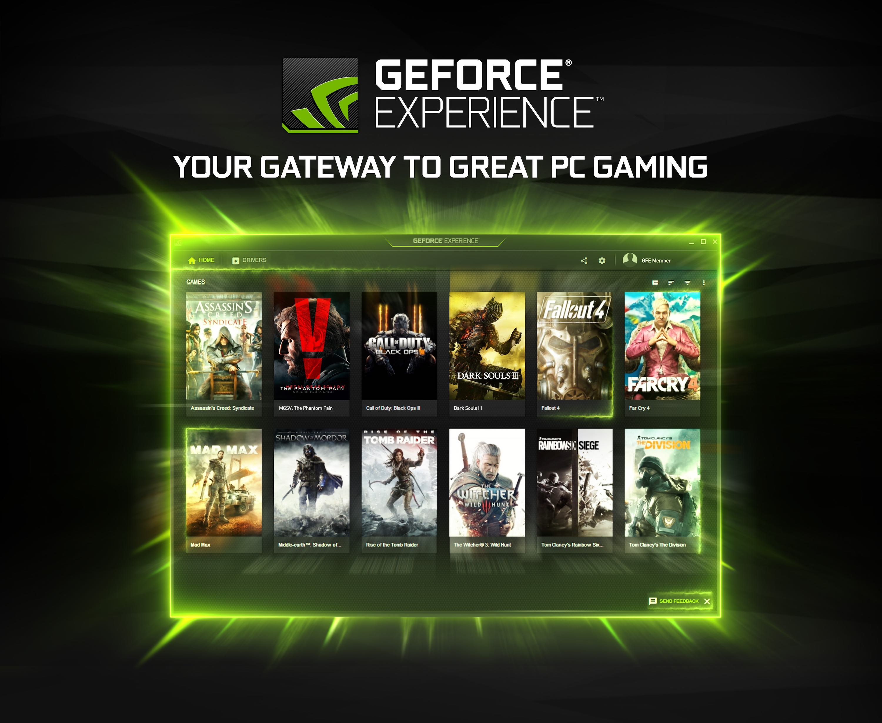 NVIDIA rende disponibile GeForce Experience 3.0