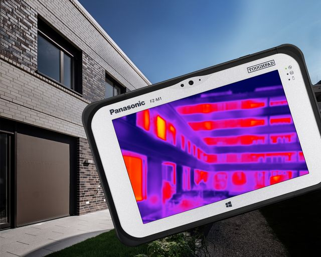 Panasonic presenta al Mobile World Congress un tablet fully rugged con termocamera FLIR